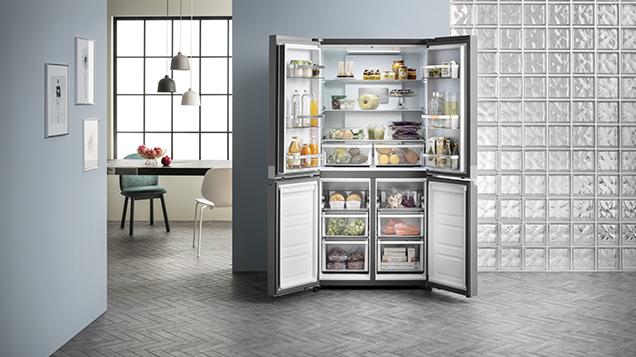 Ariston New Refrigerator | Freezer | ARQ24351SX opened State