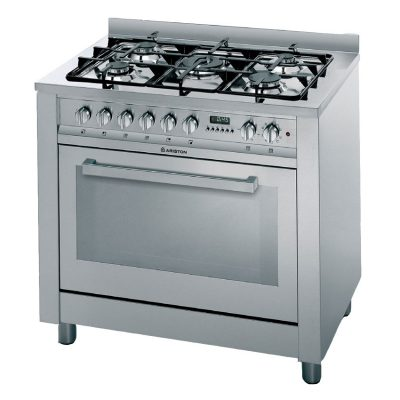 CP059MDX S - Ariston 90cm Freestanding Stainless Steel Cooker With Gas Hob (Factory Seconds)