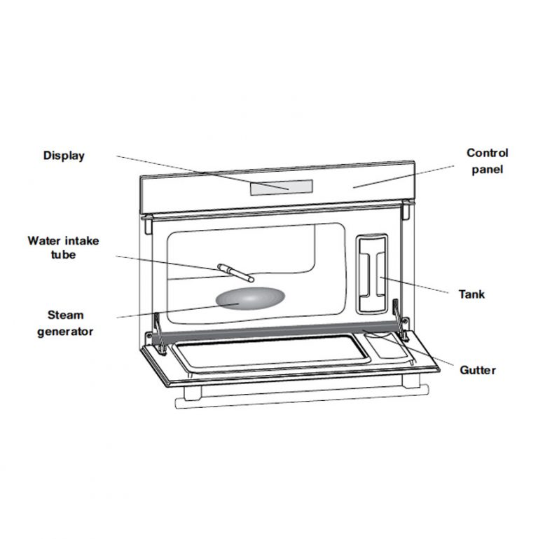 MSKA103X - Ariston Built In Steam Oven - Setup