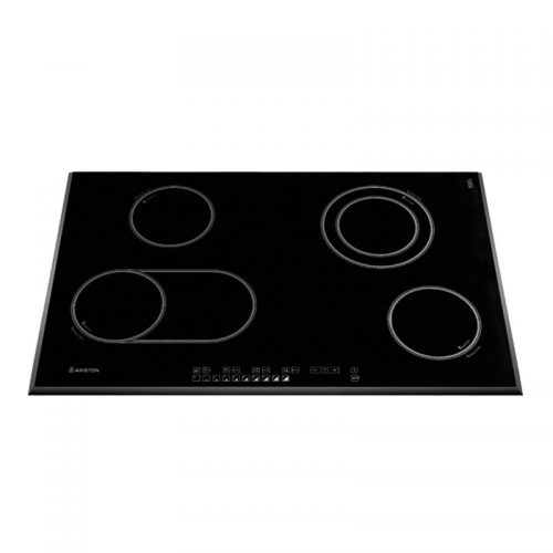 NIO844 DOB AUS - Ariston 80cm Black Glass Induction Hob (Factory Seconds)