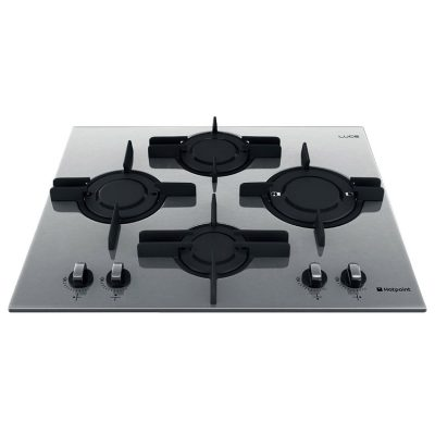 PK644 DGHX-HA - Ariston 60cm Stainless Steel Planar Gas Cooktop Hob
