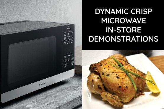 Ariston New Range Microwave Demonstration