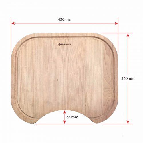 Pyramis Wood Chopping Board